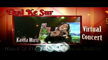 Ekal Vidyalaya Foundation TV Spot, 'Free Virtual Concert' - Thumbnail 1