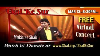 Ekal Vidyalaya Foundation TV Spot, 'Free Virtual Concert' - Thumbnail 2