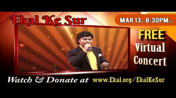 Ekal Vidyalaya Foundation TV Spot, 'Free Virtual Concert' - Thumbnail 3