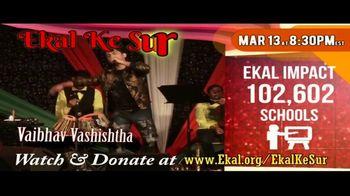 Ekal Vidyalaya Foundation TV Spot, 'Free Virtual Concert' - Thumbnail 4