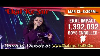Ekal Vidyalaya Foundation TV Spot, 'Free Virtual Concert' - Thumbnail 6