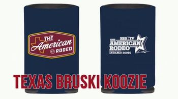 2021 American Rodeo TV Spot, 'Merchandise: Ms. Rodeo Tee and Patriot Hat'