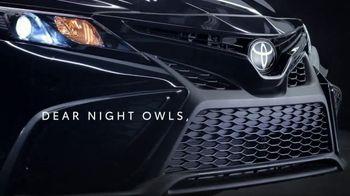 Toyota TV Spot, 'Dear Night Owls' [T2] - Thumbnail 2