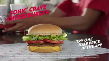 Sonic Drive-In Crave Cheeseburger TV Spot, 'How It's Done' - Thumbnail 6
