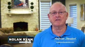 American Standard TV Spot, 'Long Hot Summer and Short Cold Winter' Featuring Nolan Ryan - Thumbnail 3