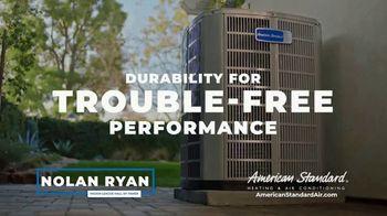 American Standard TV Spot, 'Long Hot Summer and Short Cold Winter' Featuring Nolan Ryan - Thumbnail 4