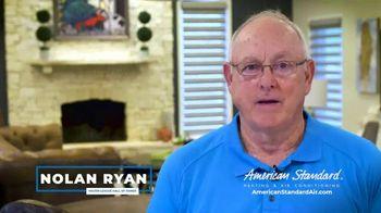 American Standard TV Spot, 'Long Hot Summer and Short Cold Winter' Featuring Nolan Ryan - Thumbnail 5