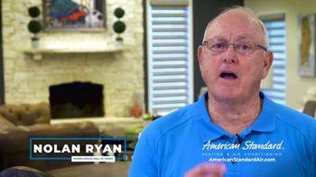 American Standard TV Spot, 'Long Hot Summer and Short Cold Winter' Featuring Nolan Ryan - Thumbnail 6