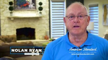 American Standard TV Spot, 'Long Hot Summer and Short Cold Winter' Featuring Nolan Ryan - Thumbnail 7