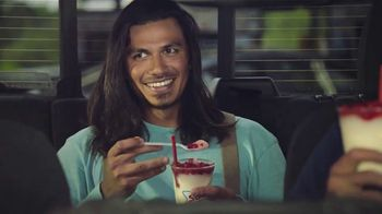 Sonic Drive-In Red, White & Blue Slush Float TV Spot, 'Compliments'