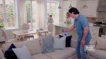 Febreze Fabric Refresher TV Spot, 'Brand Power: Last Night's Dinner' - Thumbnail 8