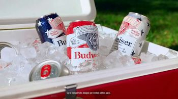 Budweiser TV Spot, '4th of July: Summer Patriotic Cans'