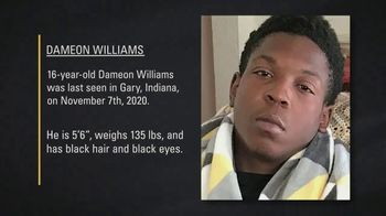 National Center for Missing & Exploited Children TV Spot, 'Dameon Williams' - Thumbnail 3