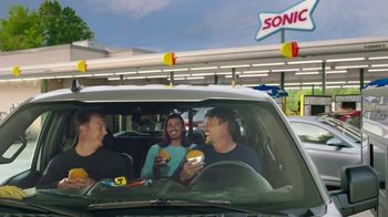 Sonic Drive-In Crave Cheeseburger TV Spot, 'Cravings'