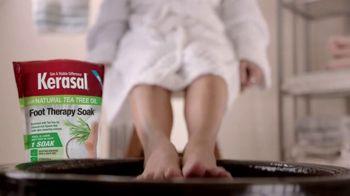 Kerasal Foot Therapy Soak TV Spot, 'Achy, Tired and Dry Feet' - Thumbnail 1