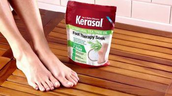 Kerasal Foot Therapy Soak TV Spot, 'Achy, Tired and Dry Feet' - Thumbnail 7