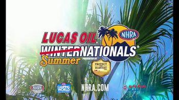 NHRA TV Spot, '2021 Lucas Oil Summernationals'