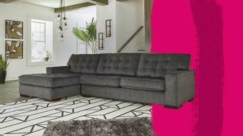 Ashley HomeStore Black Friday in July TV Spot, 'Living Room, Dining Room, Bedroom: 50% Off' - Thumbnail 3