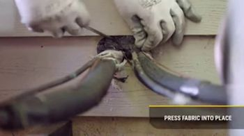 Xcluder Rodent Proof Fill Fabric TV Spot, 'Pest Problems: Seal Entrances'