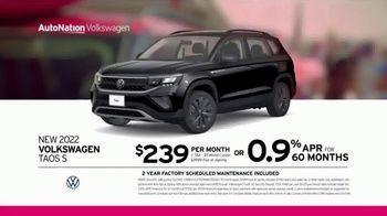 AutoNation Volkswagen TV Spot, 'Fourth of July: 2022 Taos S' - Thumbnail 4
