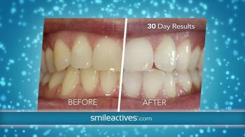 Smileactives Power Whitening Gel TV Spot, 'Amazed and Wowed'