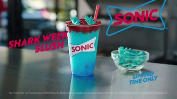 Sonic Drive-In Shark Week Slush TV Spot, 'Discovery Channel: Counting Sharks' - Thumbnail 5