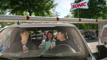Sonic Drive-In Shark Week Slush TV Spot, 'Discovery Channel: Counting Sharks' - Thumbnail 4