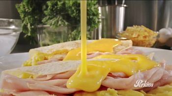 Perkins Restaurant & Bakery Sweet & Savory Crepes Menu TV Spot, 'Sounds'