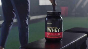 Optimum Nutrition Gold Standard 100% Whey Protein TV Spot, 'Bringing Your Best'