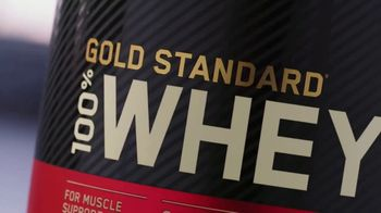 Optimum Nutrition Gold Standard 100% Whey Protein TV Spot, 'Bringing Your Best' - Thumbnail 6
