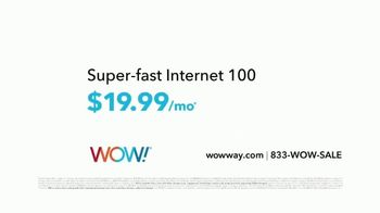WOW! Internet 100 TV Spot, 'Switching Season: From Slow to Whoa' - Thumbnail 6