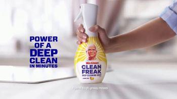 Mr. Clean Clean Freak TV Spot, 'Deep Clean in Minutes: Wipes'