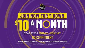 Planet Fitness TV Spot, 'Take Your Workout Back: $1 Down' Song by Reel 2 Real - Thumbnail 4
