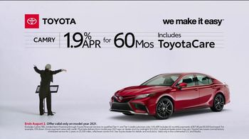 2021 Toyota Camry TV Spot, 'Conductor: Camry' [T2] - Thumbnail 2