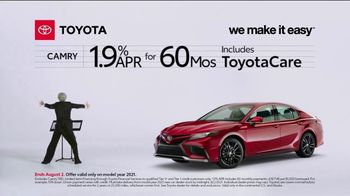 2021 Toyota Camry TV Spot, 'Conductor: Camry' [T2] - Thumbnail 6