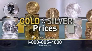 Lear Capital TV Spot, 'Much Higher: Free Gold Plated Bar'