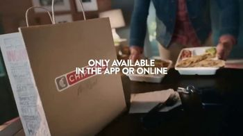 Chipotle Mexican Grill Quesadilla TV Spot, 'A Whole New Way: Pickup or $1 Delivery' - Thumbnail 9