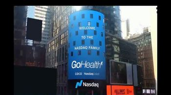 NASDAQ TV Spot, \'GoHealth\'