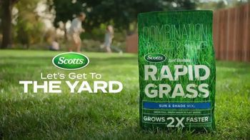 Scotts Turf Builder Rapid Grass TV Spot, 'Lawn Season'