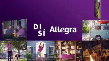Allegra 24 Hour Allergy TV Spot, 'Millones de personas' [Spanish]