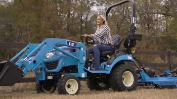 LS Tractor MT122 TV Spot, 'Works Harder'