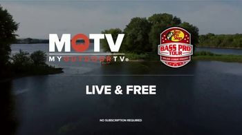 My Outdoor TV TV Spot, 'MLF: Bass Pro Tour: Streaming Stage I Live'