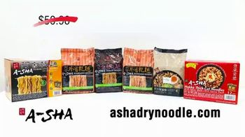 A-Sha Dry Noodles TV Spot, 'Expand Your Culinary Range' Featuring Kevin Harrington - Thumbnail 10