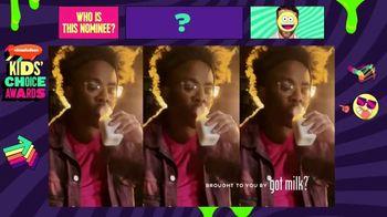 Got Milk TV Spot, '2021 Nickelodeon Kids' Choice Awards: Drum Solo'