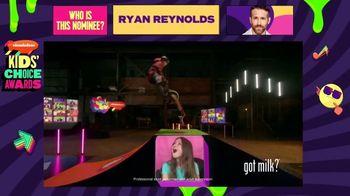 Got Milk TV Spot, '2021 Nickelodeon Kids' Choice Awards: Drum Solo' - Thumbnail 3