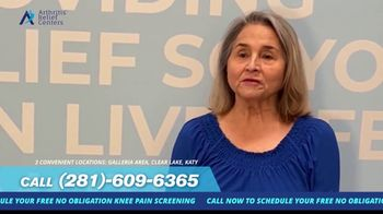 Arthritis Relief Centers TV Spot, 'Slowing You Down: Life Changer' - Thumbnail 4
