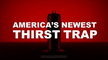 Coors Seltzer TV Spot, 'America Has a New Thirst Trap' Song by Paul Anka