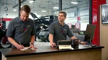 Tire Kingdom TV Spot, 'Two Advisors: $100 Mastercard Prepaid, $70 Visa Reward'