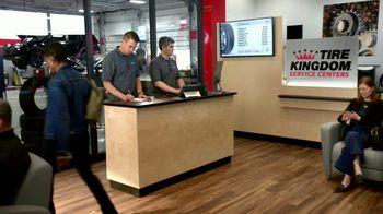 Tire Kingdom TV Spot, 'Two Advisors: $100 Mastercard Prepaid, $70 Visa Reward' - Thumbnail 1