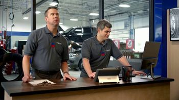 National Tire & Battery TV Spot, 'Two Advisors: $100 Off: Visa Reward Card'
